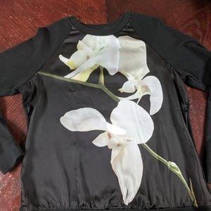 Altuzarra for Target Floral Sweatshirt Sz L